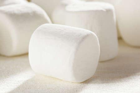 Delicious White Fluffy Round Marshmallows ready to eat Stock Photo - 18581971