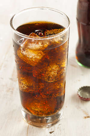fizzy: Refreshing Ice Cold Soda Pop in a Glass