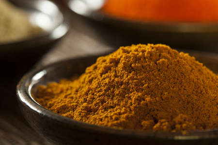 curry powder: Organic Gourmet Hot Ground Spices used for Cooking