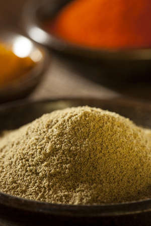 Organic Gourmet Hot Ground Spices used for Cooking