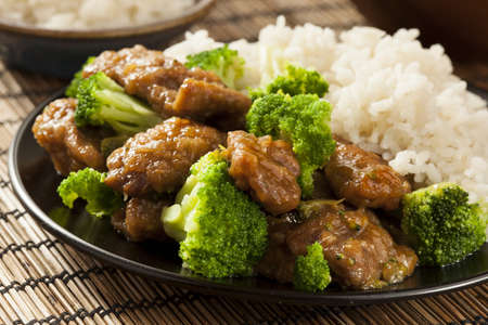 brocoli: Homemade Beef Asia y br�coli con arroz