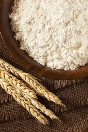 Organic Whole Wheat Flour Ready For Baking
