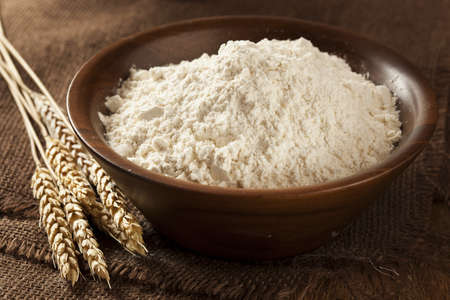 grinded: Organic Whole Wheat Flour Ready For Baking