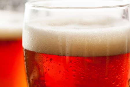 Cool Refreshing Dark Amber Beer  photo