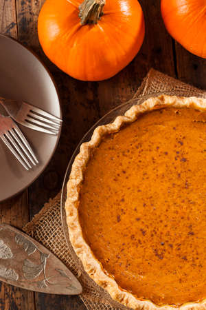 cream pie: Homemade Delicious Pumpkin Pie made for Thanksgiving