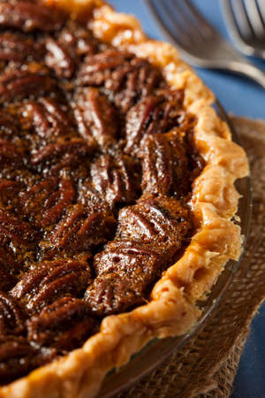 pecan pie: Homemade Delicious Pecan Pie per le vacanze