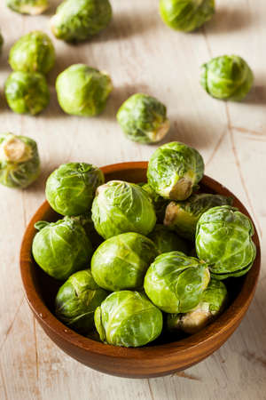 Organic Green Brussel Sprouts Ready to Cook