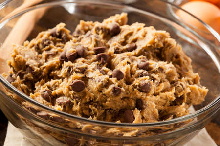 chocolate chip cookie: Homemade Chocolate Chip Cookie Dough Ready to Bake