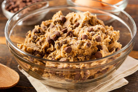oatmeal cookie: Homemade Chocolate Chip Cookie Dough Ready to Bake