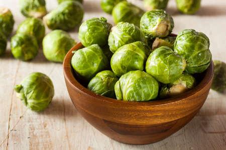 Organic Green Rosenkohl kochfertig