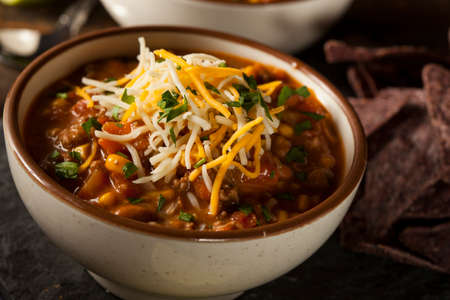 fe: Soutwestern Santa Fe Soup with Beans Corn and Cheese