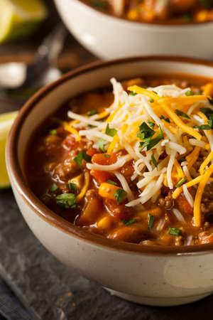 sopa de pollo: Soutwestern sopa de Santa Fe con granos de maíz y queso