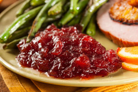 dinners: Red Homemade Cranberry Sauce for Holiday Dinners