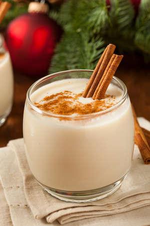 eggnog: Homemade Festive Cinnamon Eggnog for the Holidays