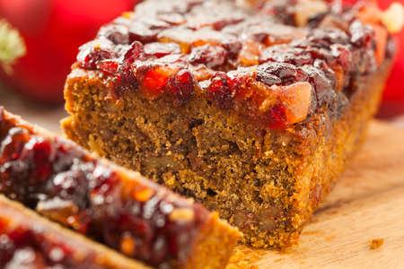 Festive Homemade Holiday Fruitcake with Nuts and Seasoning
