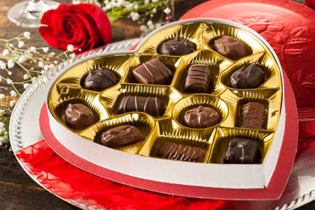 Fancy Box of Gourmet Chocolates for Valentines Day