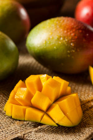 mango: Organic Colorful Ripe Mangoes