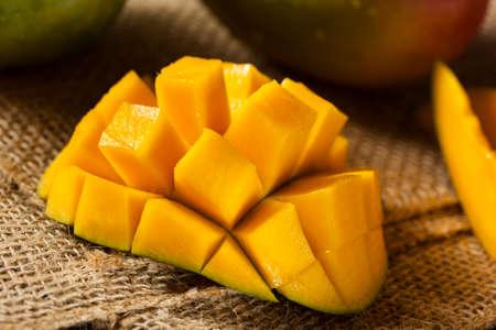 Organic Colorful Ripe Mango