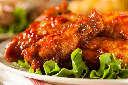 Barbacoa Buffalo Chicken Wings como aperitivo