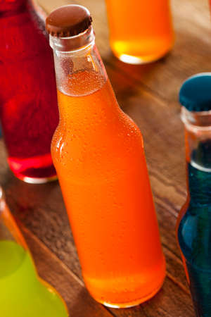 Assorted Organic Craft Orange Soda with Cane Sugar photo