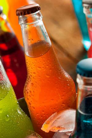 Assorted Organic Craft Orange Soda with Cane Sugar photo