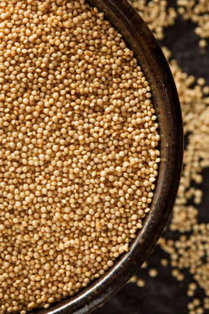 Raw Organic Amaranth Grain in a Bowl photo