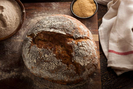 Organic Homemade Ancient Grain Bread made with Amaranth