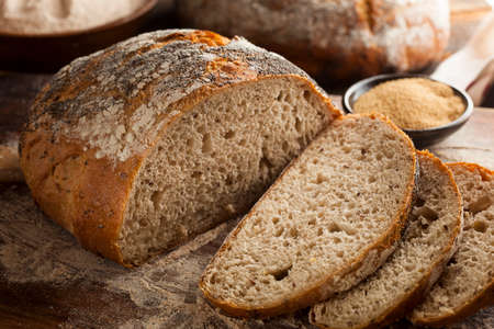 Organic Homemade Ancient Grain Bread made with Amaranth photo