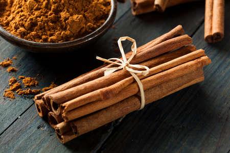 cinnamon bark: Organic Raw Brown Cinnamon