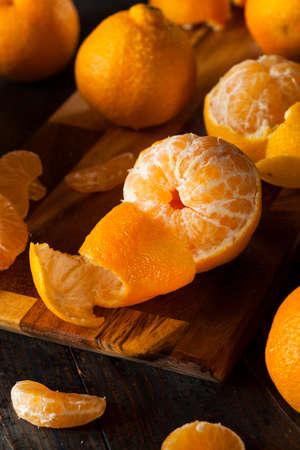 Fresh Raw Organic Mandarin Oranges Ready to Eat