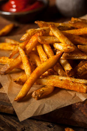 spud: Cajun Seasoned French Fries with Organic Ketchup