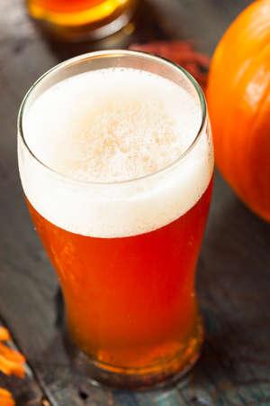 ale: Frothy Orange Pumpkin Ale Ready to Drink