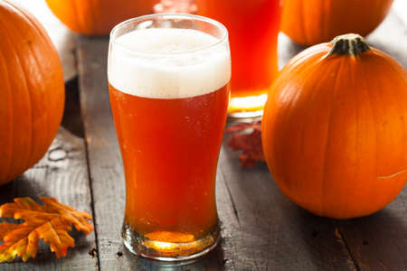 frothy: Frothy Orange Pumpkin Ale Ready to Drink
