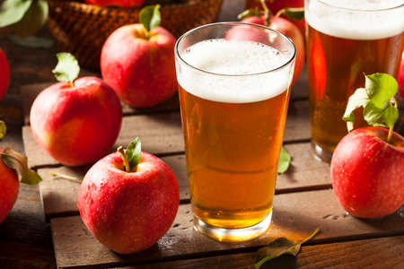apple and cinnamon: Hard Apple Cider Ale Ready to Drink