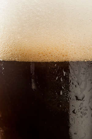refreshing: Refreshing Dark Stout Beer Ready to Drink