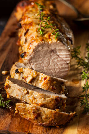 Homemade Hot Pork Tenderloin with Herbs and Spices