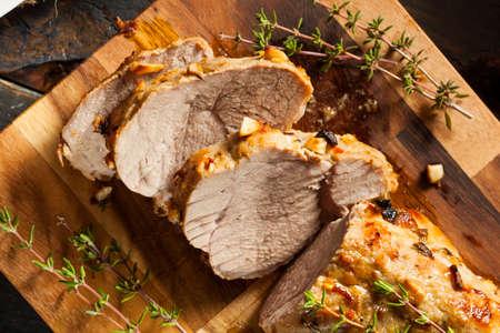 Homemade Hot Pork Tenderloin with Herbs and Spices Stock fotó - 32918355