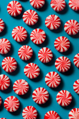 peppermint candy: Festive Red and White Peppermint Candy Canes.