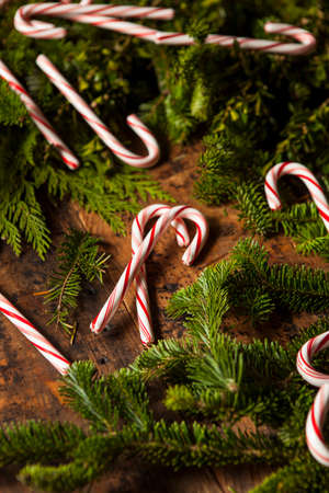 peppermint candy: Festive Red and White Peppermint Candy Canes