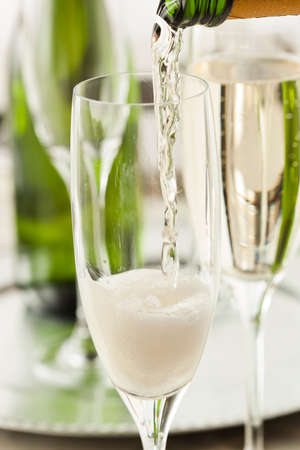Alcoholic Champagne for New Years Eve Celebration photo