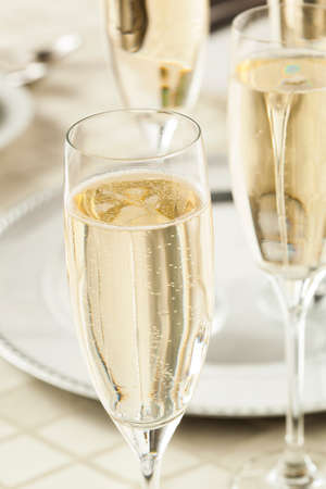 Alcoholic Champagne for New Years Eve Celebration