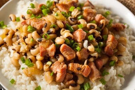 john: Homemade Southern Hoppin John with Rice and Pork