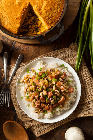 soul food: Homemade Southern Hoppin John with Rice and Pork