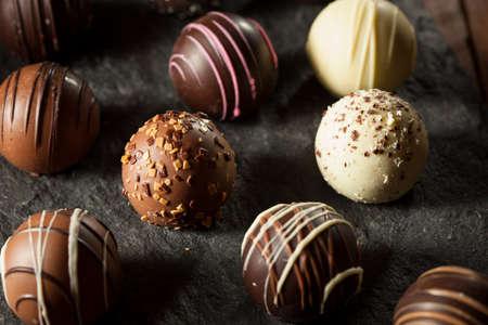 truffle: Fancy Dark Chocolate Truffles Ready to Eat