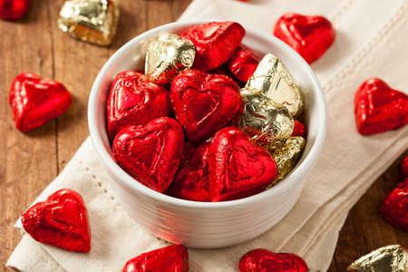bonbon chocolat: Bonbons Coeur de sucrerie de chocolat pour la Saint Valentin