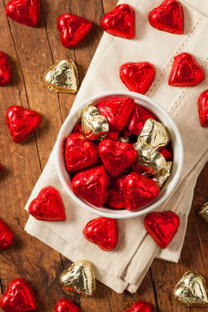 Chocolate Candy Heart Sweets for Valentines Day
