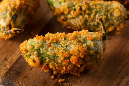 jalapeno: Homemade Breaded Jalapeno Poppers with Cream Cheese