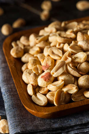Organic Roasted Salty Peanuts in a Bowl