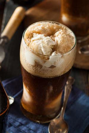 stout: Flotador Frozen Oscuro Stout cerveza con helado