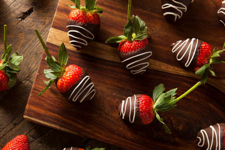 dipped: Homemade Chocolate Dipped Strawberries Ready to Eat